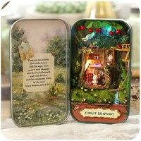 Творческий Рождественский подарок DIY коробка театр Сказочный домик Миниатюрные фигурки подарок на день рождения