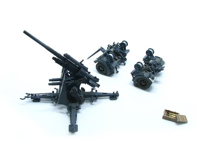 ФОТО PMA 1:72 P0310 FLAK 37 German 88 mm gun Type 88 gun with trailer sent clip Favorites Model