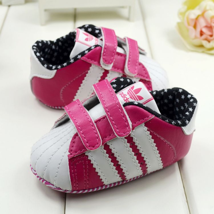 f129b7b8c Free shipping newborn baby girls shoes pretty toddler infant bebe tennis  sneaker skidproof soft sole first Walkers-in First Walkers from Mother    Kids on ...