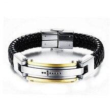 Energy Bracelet Smart Buckles Magnet Bracelet Health Care Elements Gold Bracelets For Women/Men Gift цена