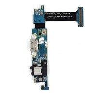 Parte de Substituição de Telefone celular para Samsung Galaxy S6 borda G925F Ficha de Carregamento Porta Cabo Flex + Fone de Ouvido + Microfone + Senso