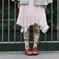 Princess sweet lolita pantyhose Original Japanese harajuku Retro canvas map printing pantyhose LKW22