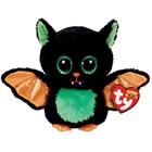 "Ty Beanie Boos 6"" 15cm Beastie the Halloween Bat Plush Regular Stuffed Animal Collectible Soft Doll Toy"