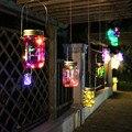 Color Changing Fairy Light Solar Mason Jar Insert LED Garden Decor Solar Lights
