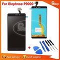 Probado Bien Para Elephone Original P9000 LCD Display + digitalizador de Pantalla Táctil Para Elephone P9000 pantalla lcd Envío Libre + herramientas