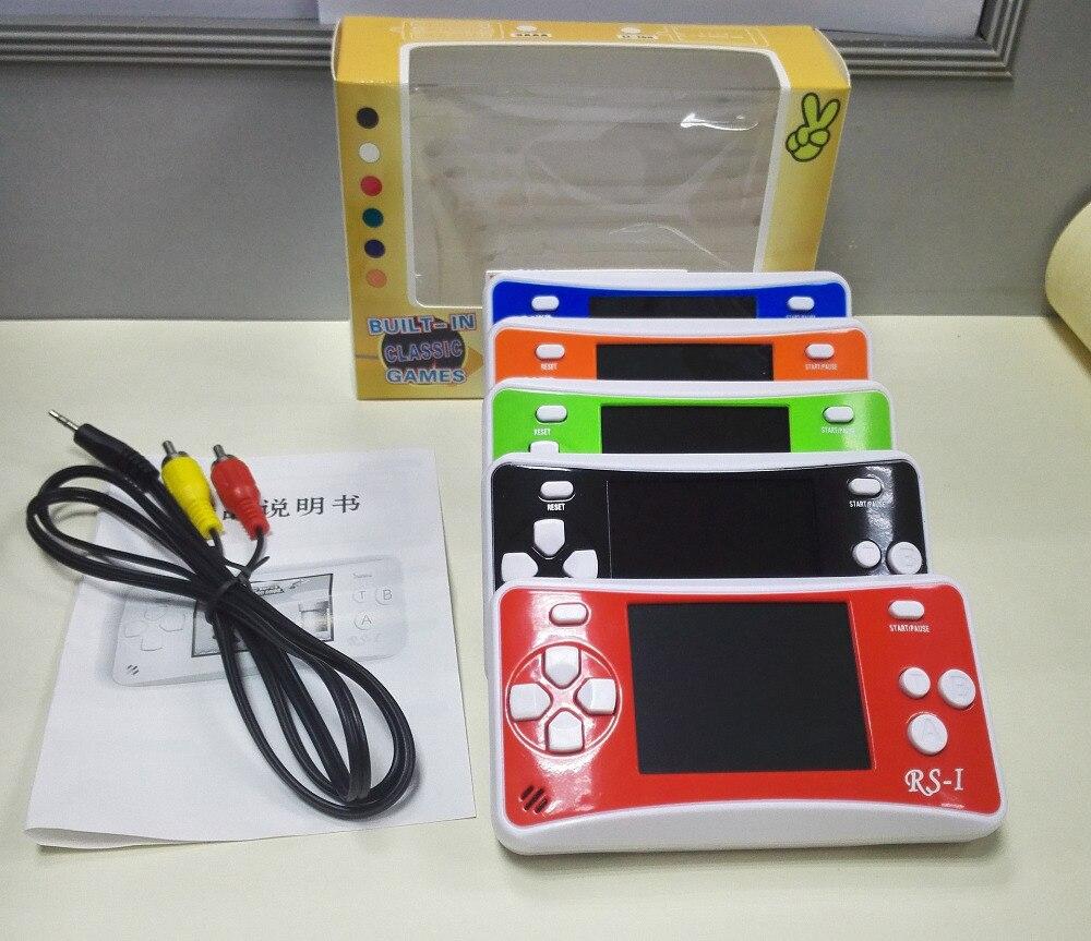 Haben Sie Einen Fragenden Verstand Rs-1 Handspiel-spieler Kind Classic Game Maschine 2,5 Zoll Lcd Tragbare Videospielkonsole Mit 76 Spiele Für 8bit Spiele Modern Und Elegant In Mode Portable Spielkonsolen