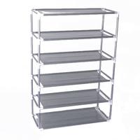 6 Layers removable door shoe storage cabinet shelf DIY shoes storage