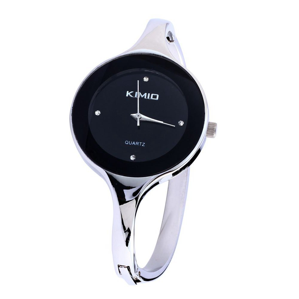 New Brand Stainless steel Wristwatch Bangle Bracelet Woman
