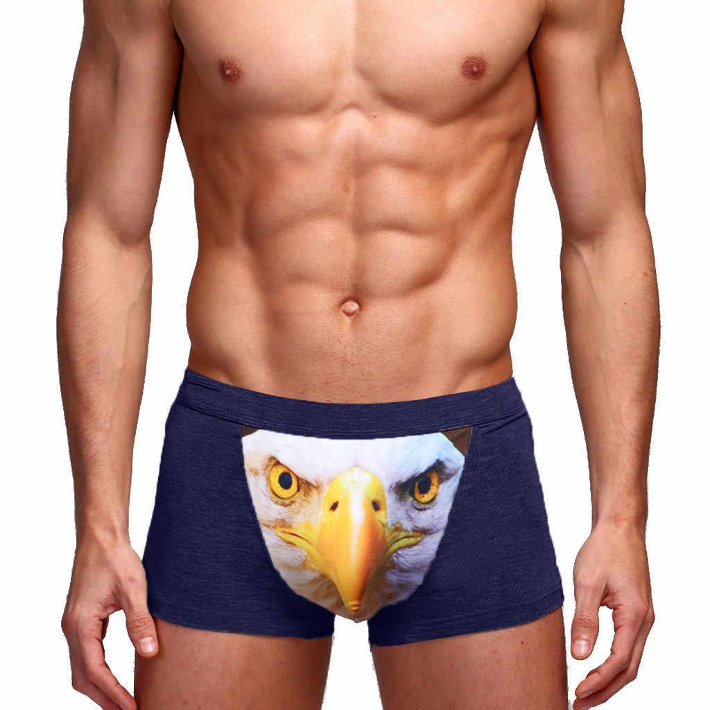 ملابس داخلية للرجال ملابس داخلية للرجال ملابس داخلية مثيرة مطبوع عليها قطن ناعمة قابلة للتنفس ملابس داخلية بوكسر ملابس داخلية تسمح بالتهوية
