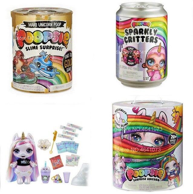Poopsie Slime Surpresa Cocô Cocô Queda Pacote 2 Fazer Unicórnio Mágico Multicolor LOLS Bonecas