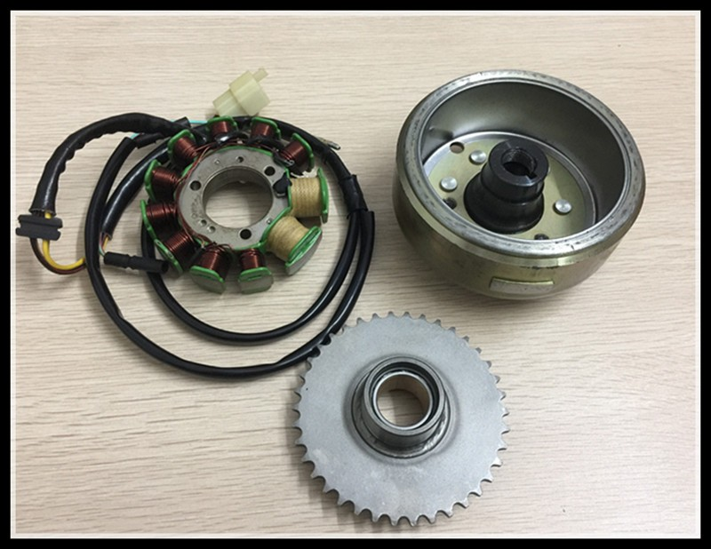 motorcycle Magnetic motor Ignition coil CBT250 CA250 DD150 DD250 ATV250 stator coil Rotor 253FMM Double cylinder duplex twin cylinders rebel motorcycle carburetor assy set for mikuni chamber carb set cmx 250 cbt250 ca250 dd250 300cc