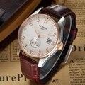 Мужские кварцевые часы OCHSTIN  спортивные  водонепроницаемые  с кожаным ремешком