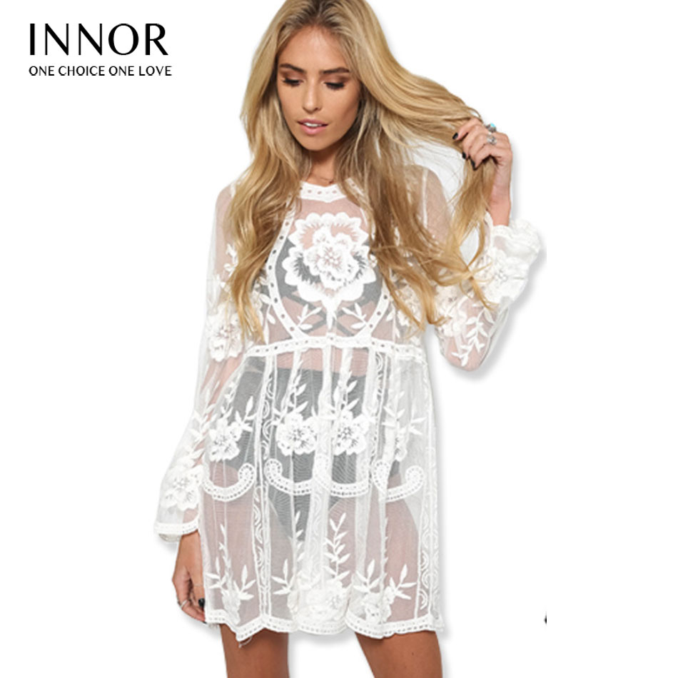 1507675d49d81 2018 Summer Women Lace Dress Black White Casual Sexy Sleeveless Mesh lace  dress See Through Beach