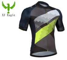 Full sublimation 2017 Team cycling jersey quick dry merida men's summer bike wearmo cycle clothing