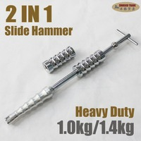 Stainless Steel 2 IN 1 PDR Slide Hammer Tools Kit PDR Hand Tools Sheet Metal Tools