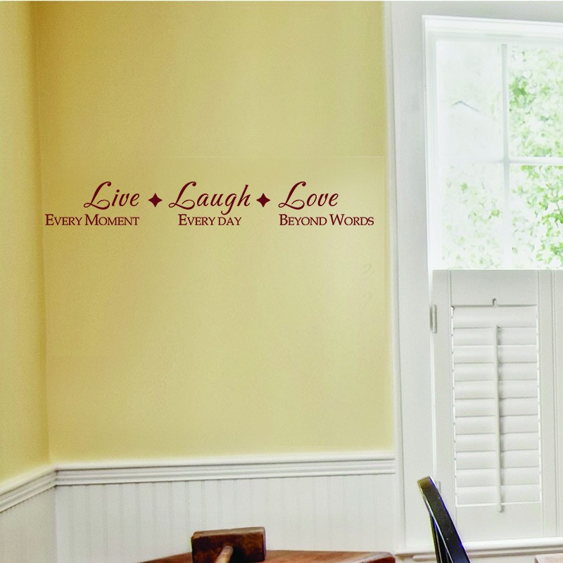 live laugh love family vinyl wall lettering quote decals art graphics stickers 46 x