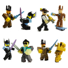 6pcs / set Roblox Figure jugetes 2018 7cm PVC Game Figuras Roblox Boys Toys for roblox-game