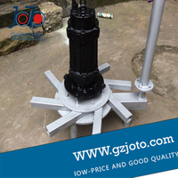 Pin Factory New Submersible Aerators QXB DSA 0 75Kw Aerobic And Anaerobic Biological Wastewater Grit Breeding