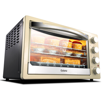 Home Multifunction 42 L Baking Oven  Up and Down Independent Temperature Control with A Fork Hot Air Kitchen Eiectric Oven new afp2434 plc 2 axes independent fp2sh positioning units multifunction type