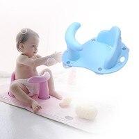 Newborn Bath Seat Infant Baby Bath Tub Ring Seat Children Shower Toddler Babies Kid Anti Slip Security Safety Chair Baby Bathtub