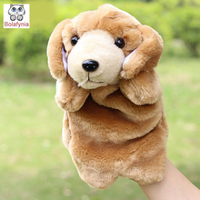 Children Stuffed Toy PUPPET Dalmatians dog paternity early dolls kids doll plush baby Hand PUPPETS toys Christmas birthday gift