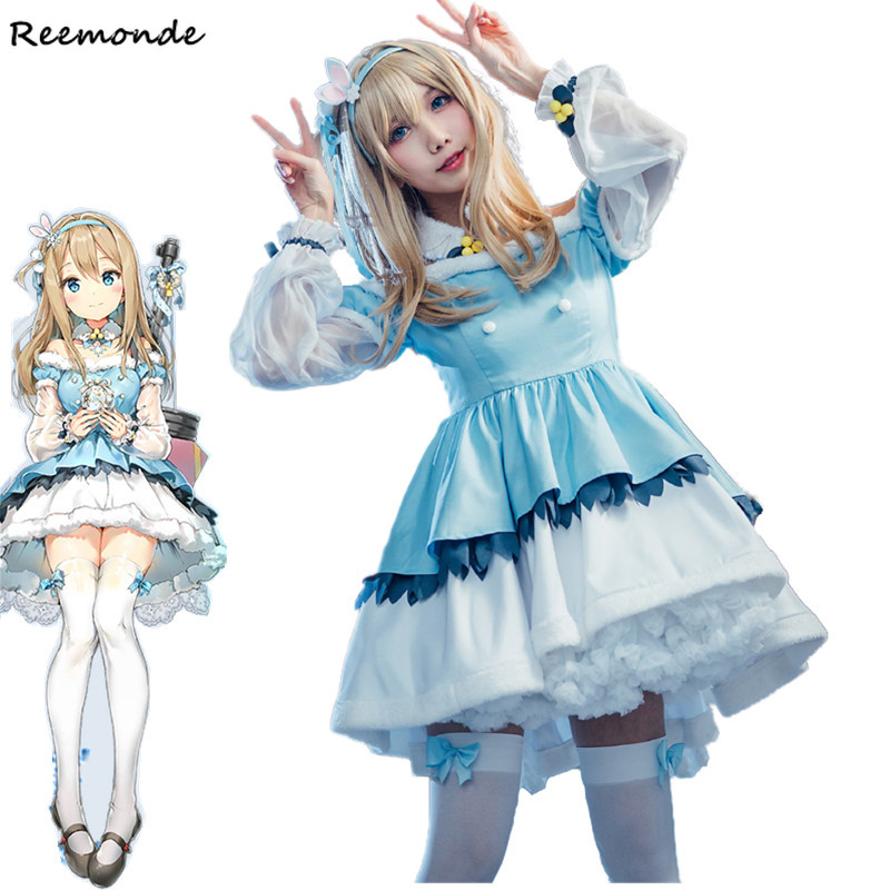 Game Girls Frontline KP31 Cosplay Costume Princess Dress Uniform Carnival Outfit Full Set Synthetic Wigs Hair Women Girl Clothes-in Game Costumes from Novelty & Special Use    1