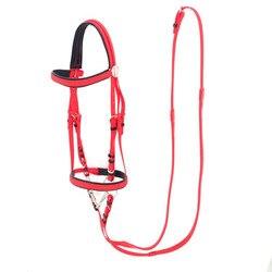 Wasser Pferd Reit bridle rein gabel PVC wasser pferd zaumzeug reins Le edelstahl anker verschiffen