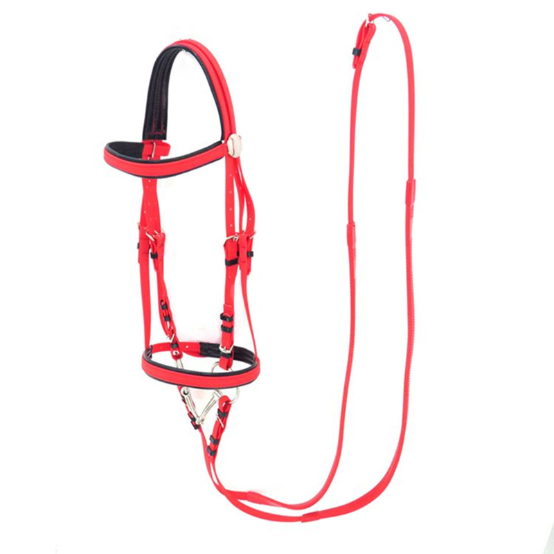 Water Horse Equestrian Bridle Rein Fork PVC Water Horse Bridle Reins Le Stainless Steel Armature Shipping