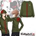 Dangan Ronpa Danganronpa 3 Naegi Makoto Cosplay Escudo de Vestuario Hoodie y de la Camiseta de Algodón de Manga larga