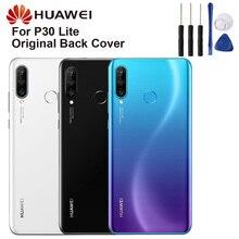 Original Glass Battery Rear Case For Huawei P30 Lite Back Cover Phone Backshell Cases