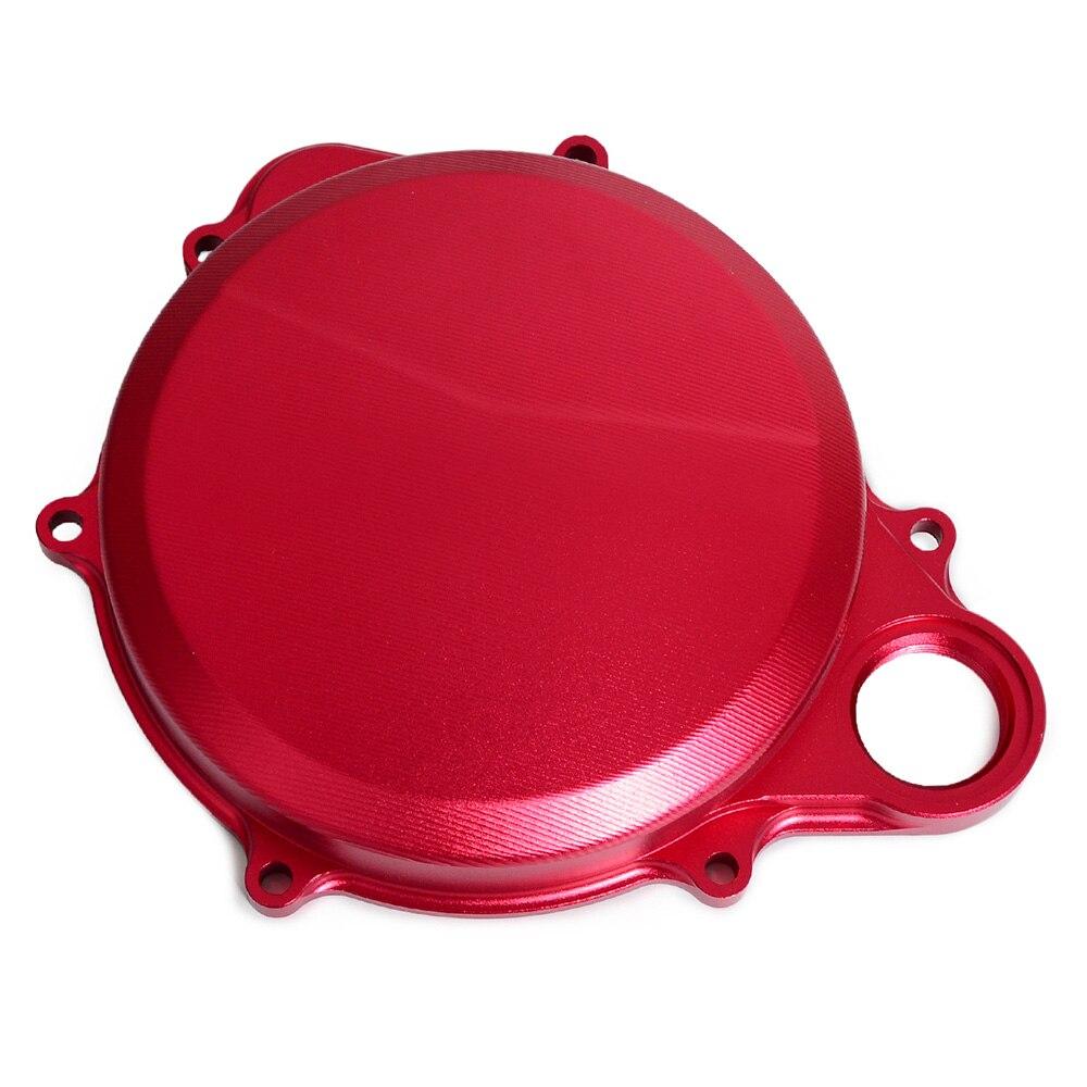Красный с ЧПУ Крышка сцепления/правая Крышка картера для Honda CRF250R 2010 11 12 13 14 15 16