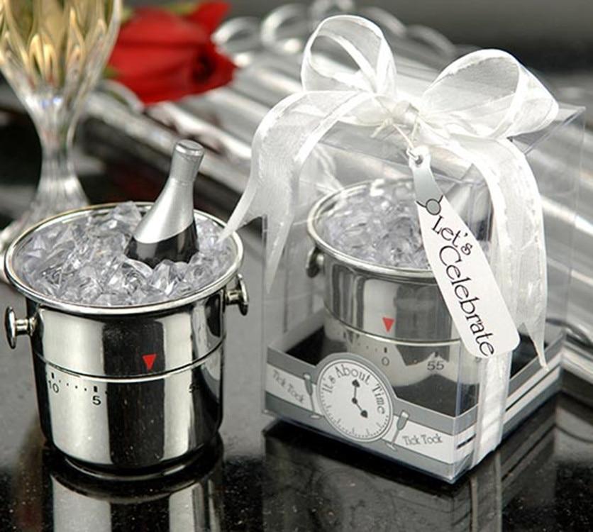 Kreative Home Party Favor Champagner Eimer Timer Für Brautdusche - Partyartikel und Dekoration
