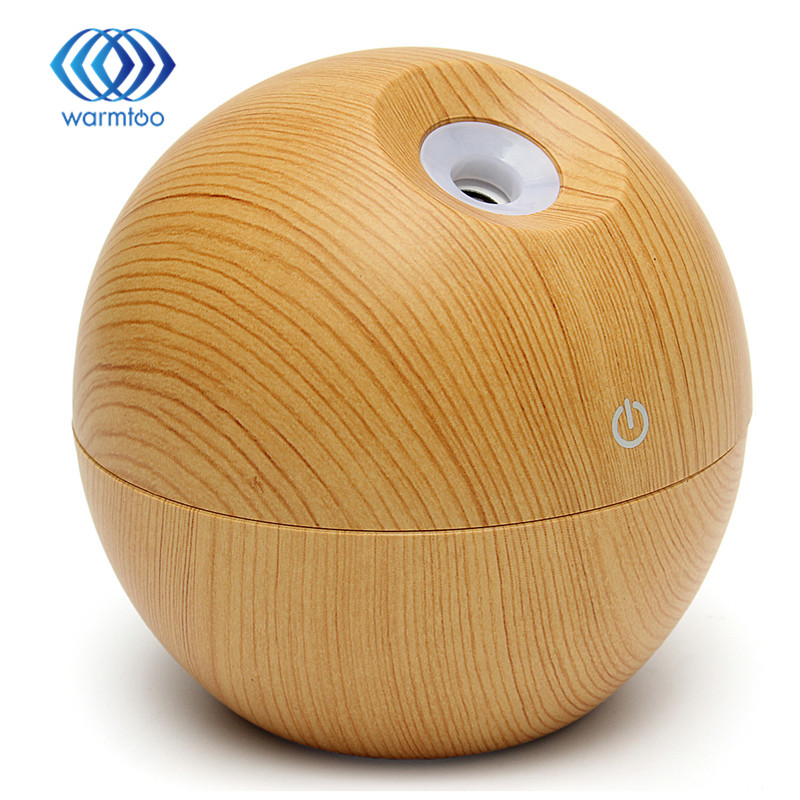 Essential Oil Diffuser 130ML LED Ultrasonic Cool Mist Aroma Air Humidifier USB Air Purifier for Office Home Bedroom Living cool bottle led humidifier home aroma air diffuser purifier atomizer essential oil diffuser mist maker fogger