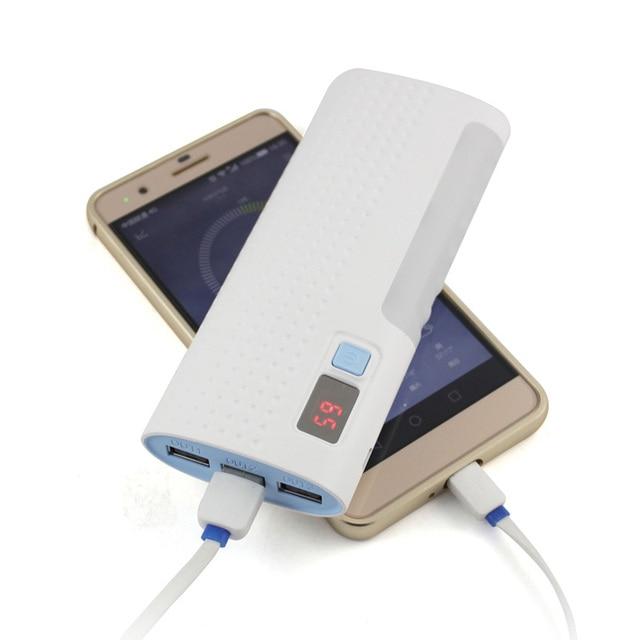DCAE Новая Власть Банк 12000 мАч 3 USB ЖК-Дисплей Внешняя Батарея Резервного Копирования Портативное Зарядное Устройство для всех телефонов