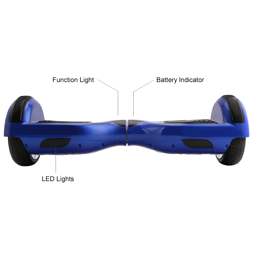 iScooter Self Balancing Hoverboard or two-wheel Skateboard with LED Light 13