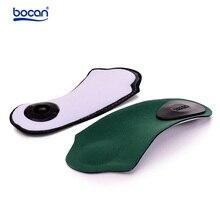Bocan neu Orthopädische einlegesohle fußpflege für mann und frauen schuhe arch stützkissen dämpfung einsätze gesundheit pad sohle 6014