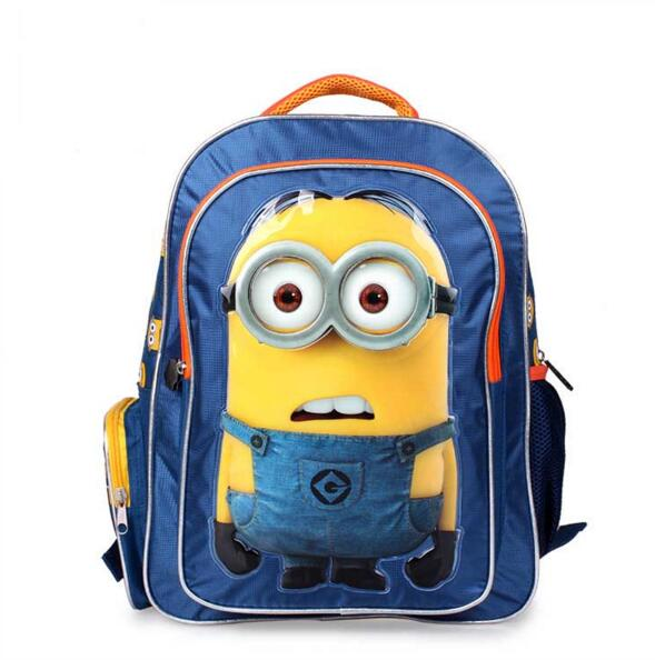 Lovely Minion Backpack Kids School Bags for Boys Schoolbag Children Backpacks mochila escolar infantil sac a dos enfant