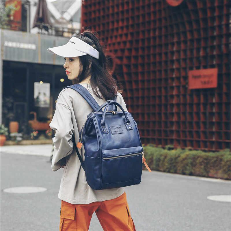 c46c8c94954c ... PU Kanken рюкзак женский подростковый школьные рюкзаки для девочек  Школьный рюкзак Mochila женская сумка дорожная сумка ...