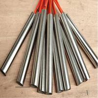 Stainless Steel Cylinder Tube Mold Heating Element Single End Cartridge Heater High Temperature Electric Heat Pipe Mould dia14mm