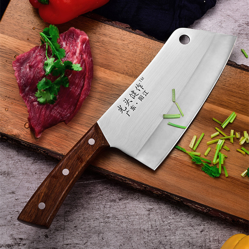 GTJ High Quality Stainless Steel Kitchen Multifunctional Cutting Knives Household Cooking Meat Vegetable Knife Chef Knives|Kitchen Knives| |  - title=