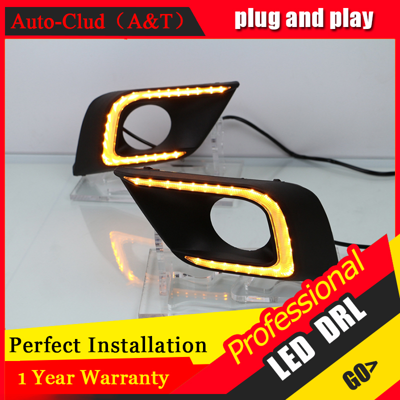 Auto Clud car styling For Nissan MURANO LED DRL For MURANO led fog lamps daytime running light High brightness guide LED DRL for lexus rx gyl1 ggl15 agl10 450h awd 350 awd 2008 2013 car styling led fog lights high brightness fog lamps 1set