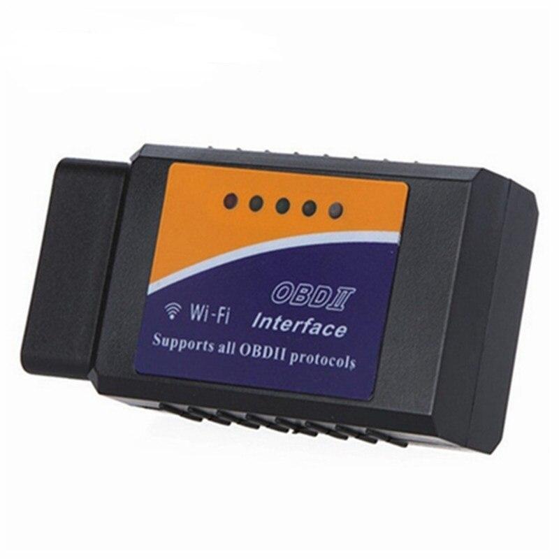 2017 Haute Qualité ELM327 Wifi Scanner Auto OBD2 Outil De Diagnostic ELM 327 WIFI OBDII Scanner V 1.5 Sans Fil Pour Android/IOS