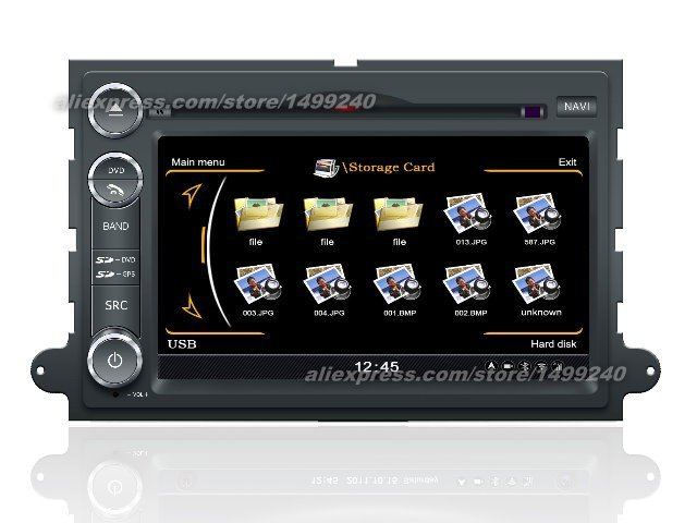 For Ford Freestar 2004 2007 Car GPS Navigation System Radio TV DVD iPod BT 3G WIFI