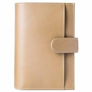 Image 5 - أغطية جلد البقر الحقيقي الرجعية المسافر دفتر دفتر يوميات دفتر ملاحظات للسفر اليدوية خمر