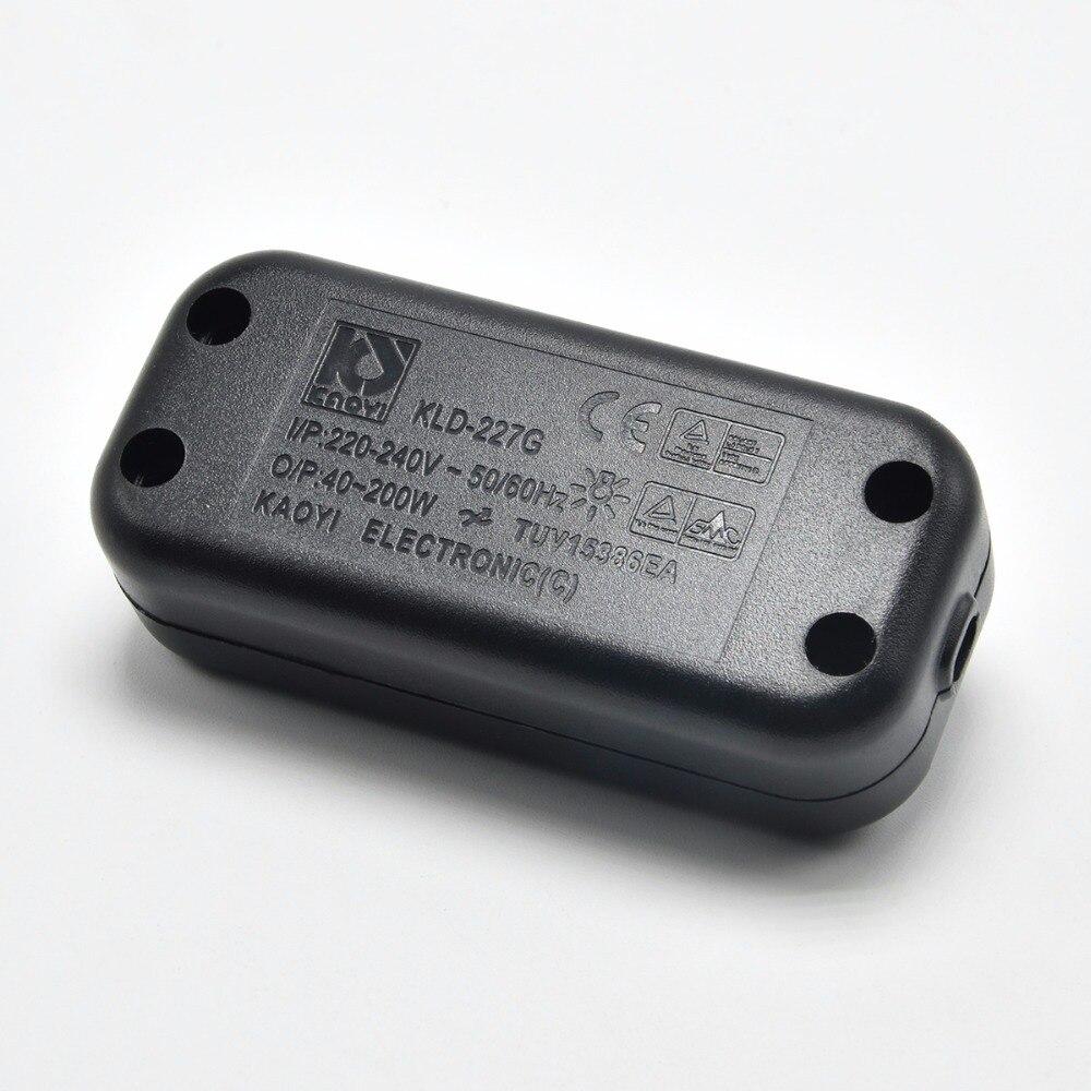 1 Pc Lot 230 V L Mpara Regulador De Intensidad De Luz Del Piso  ~ Interruptor Regulador De Intensidad Para Lampara De Pie