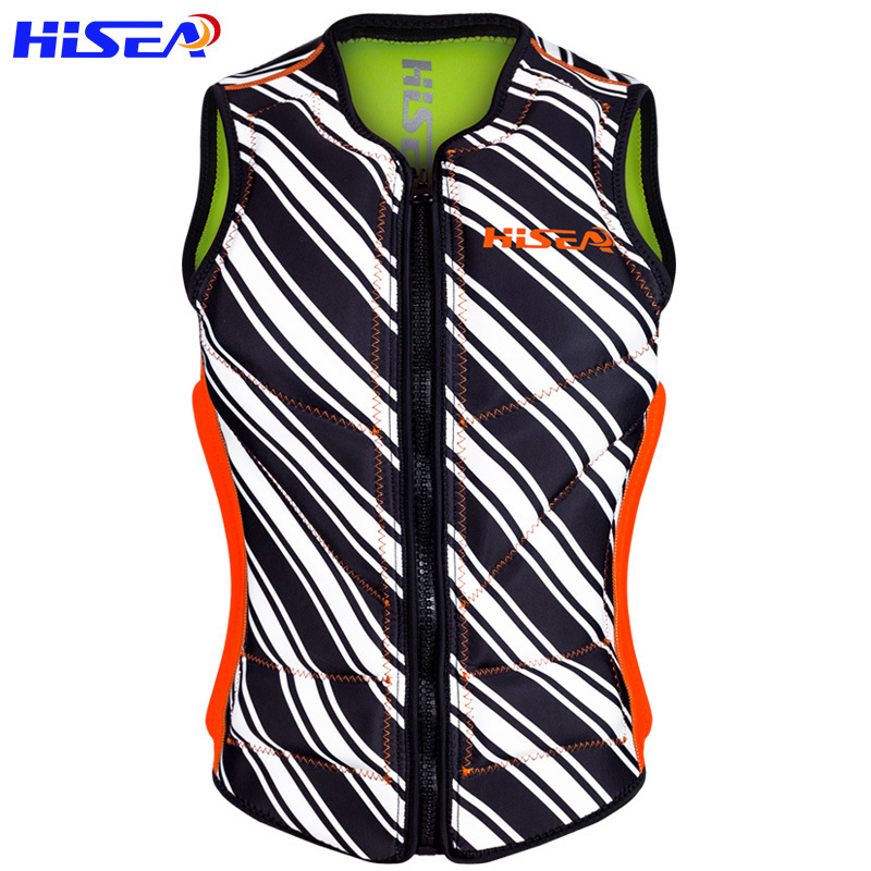 Floating swimming life jacket professional ship drift snorkeling vest PVC cotton ...