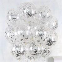 10 stks/partij Clear Ballonnen Gouden Ster Folie Confetti Transparante Ballonnen Gelukkige Verjaardag Baby Shower Wedding Party Decoraties 1