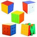 Velocidad de Fantasía 3x3x3 4x4x4 5x5x5 6x6x6 7x7x7 Cubos Mágicos Llavero Llavero Rompecabezas Velocidad Juguete Capas 4*4*4 Cubo mágico Regalo