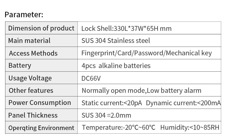 Aluminum lock 4