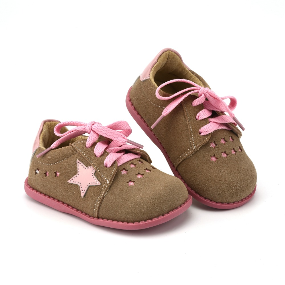 Image 5 - Tipsietoes New Designs Girls Fashion Shoes 2 Colors Genuine Leather  Handmade Children  Kids Sneakers-in Leather Shoes from Mother & Kids